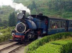 Wagon Toy Train Derailed Injured