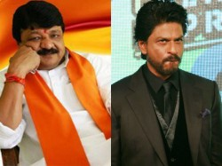 Bjp Leader Kailash Vijayvargiya Targets Shah Rukh Khan