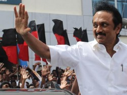 Dmk Elects Mk Stalin As Working President Father Karunanidhi Remain Chief