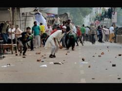 For Nomination File Clash Between Tmcp Sfi College Gandhigiri In City