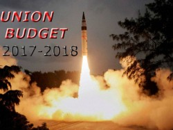 Arun Jaitley Raises Defence Budget About 5 8 Rs 2 74 000 Crore