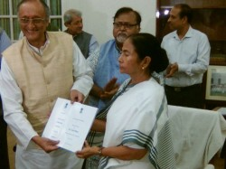 Finance Minister Amit Mitra Submitted State Budget