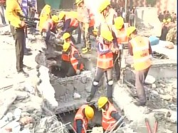 Dead 25 Feared Trapped Kanpur Building Collapse 3 Year Old Rescued