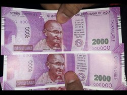 No Child S Play Fake Rs 2000 Notes Children Bank India Dispensed By Sbi Atm In Delhi