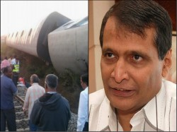 Sabotage Attempts On Indian Railways 40 Days Suresh Prabhu Expresses Serious Concern