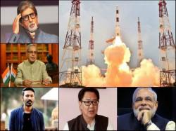 India Celebrates Isro S 104 Sattelite Launch