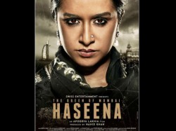 Haseena First Look Shraddha Kapoor Plays Dawood Ibrahim S Sister In Gritty Drama