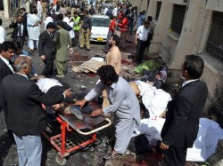 Blast Pakistan S Lahore Seven Killed 20 Wounded