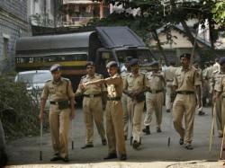 Police Car Hit Traffic Guard Break Traffic Rule