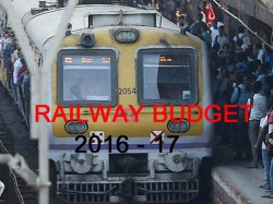 Union Budget Rail Safety Be Priority Railway Budget