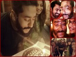 Raj Chokroborty Celebrates Birthday With Friend Actress Subhoshree