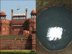 Arms Ammunitions Recovered At Red Fort During Search Operation