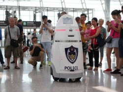 Robot Police Officers Appointed Patrolling China Streets