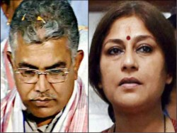 Tmc Demand Arrest Dilip Ghosh Rupa Ganguli Also Child Trafficking Case
