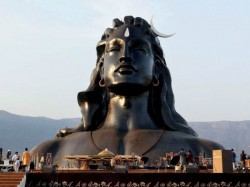 Mahashivratri Pm Narendra Modi Unveil 112 Feet Shiva Statue