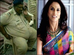 Shobhaa De S Mocking Tweet On Mp Cop Daulatram Jogawat Is Blessing In Disguise