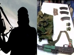 Maoist Leader Surrendered At Office Medinipur Police Super