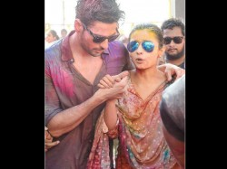 Alia Bhatt Sidharth Malhotra Spotted Playing Holi Together