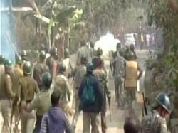 Bhangar Blockade Leading Women Children