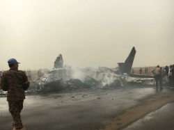 South Sudan Plane Crash Dozens Feared Dead After Passenger Jet Crashesh In Airport