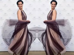 Believe It Or Not Dia Mirza S Dress Is Made Of Recycled Shampoo Bottles