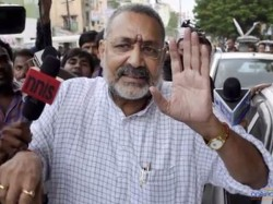 Giriraj Singh Asks Hindus Pray Temple Instead Cutting Cake On Birthdays