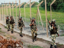 In India Bangladesh Border Stop Farming Farmers Are Conflict With Bsf
