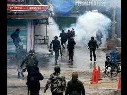 Militants Killed 2 Encounters Kashmir Civilian Dies Cross Fire