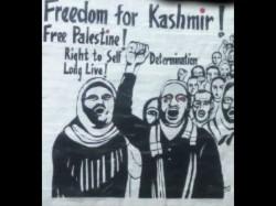 Azadi Kashmir Poster Surfaces Jnu Removed