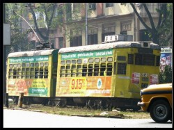 Wb Govt Restrict Tram Movement Congested Kolkata Areas