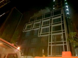 A Devastating Fire At The Hotel Kolkata Two Resident Burn Died
