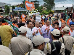 Bjp Set Form Manipur Government As Npp Declared Support