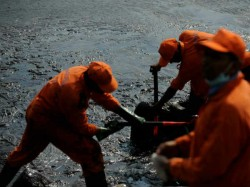 A Large Crack The Line Indian Oil At Haldia