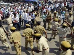 Injured In Kolkata Clash Left Activists Says Police