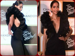 Oops Sonam Kapoor S Wardrobe Malfunction Pictures Go Viral Here S How She Reacted To It