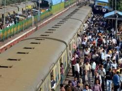 Two Trains On The Same Line At Bidhannagar Major Accident Narrow Saving