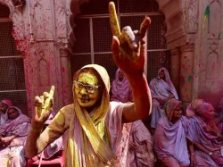 India As Well As Pakistan Celebrates Holi