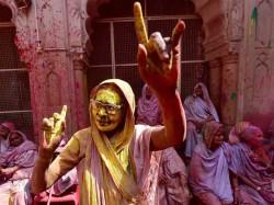 India As Well As Pakistan Celebrates Holi