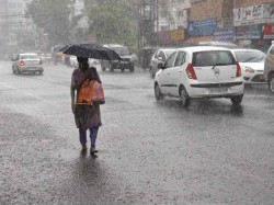 Scattered Rain On Monday Due Low Pressure