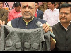 Minister Giriraj Singh Launches Ac Jacket With Climate Control Buttons