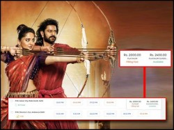 One Ticket Of Baahubali 2 The Conclusion Will Cost Rs