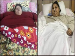 World S Heaviest Woman Eman Ahmed Lost 242kg Two Months