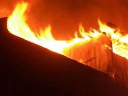 Shanty Slum New Town Burned A Devastating Fire