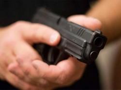 Entering A Gold Loan Office Criminal Shot Female Consumer