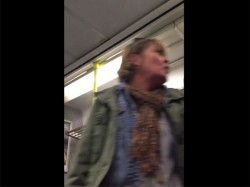 Go Back India Woman Screams At Passengers On Board Train Ireland