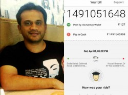 Ola Charged This Guy Rs 149 Crore