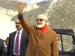 Uttarakhand Pm Narendra Modi Visits Kedarnath Temple