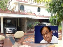 Cbi Has Conducted Raids At The Residence P Chidambaram