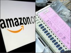 Amazon Selling Electronic Voting Machine Prototype