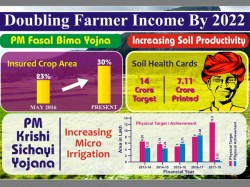 Doubling Farmer Income 2022 Tracking Modi Government S Progress Agriculture